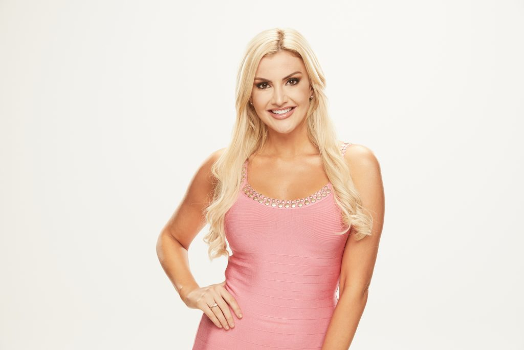 Kathryn Dunn, houseguest on the CBS series Big Brother