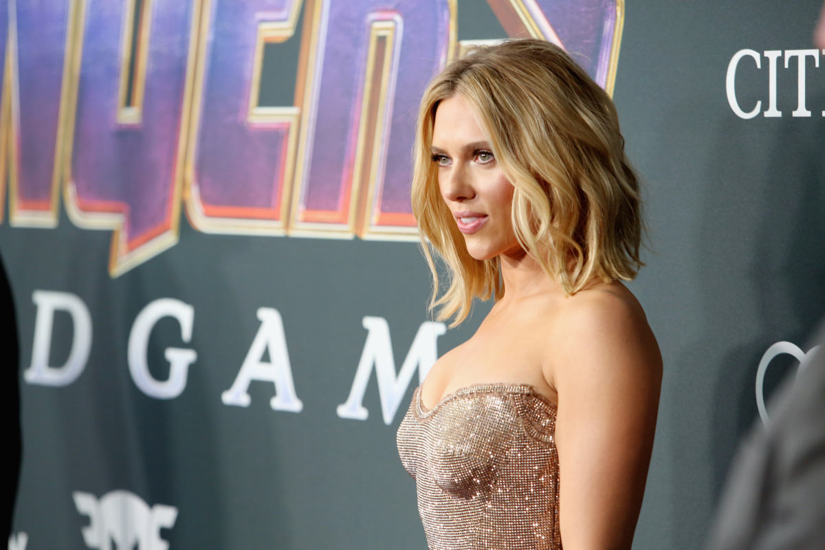 """Black Widow star Scarlett Johansson attends the Los Angeles World Premiere of Marvel Studios' """"Avengers: Endgame"""" at the Los Angeles Convention Center on April 23, 2019 in Los Angeles, California."""