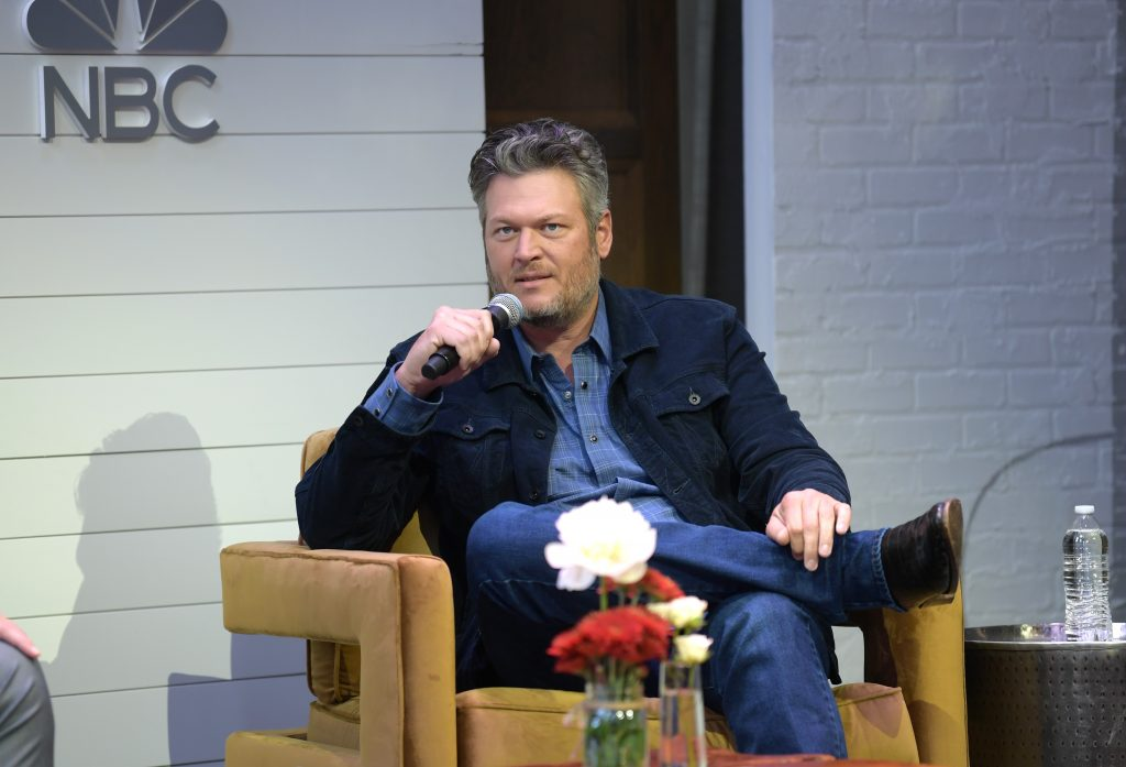 """Blake Shelton attends the """"The Voice"""""""