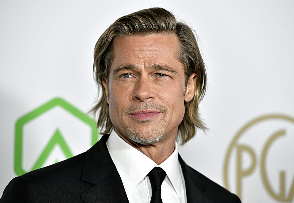Brad Pitt attends the 31st Annual Producers Guild Awards at Hollywood Palladium