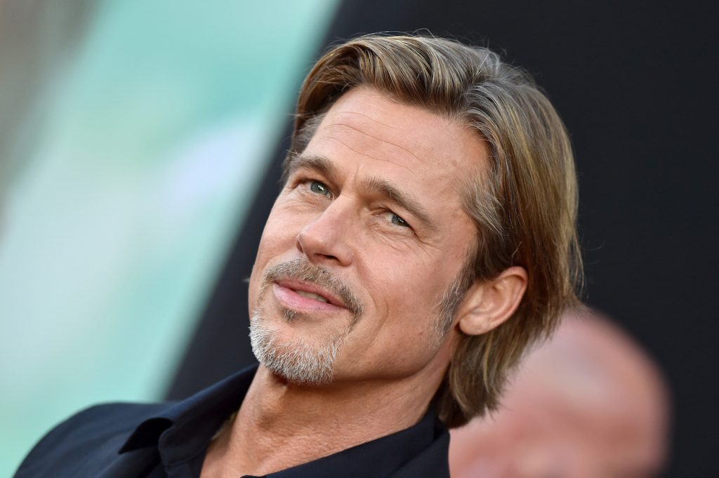 Brad Pitt attends the Premiere of 20th Century Fox's 'Ad Astra'