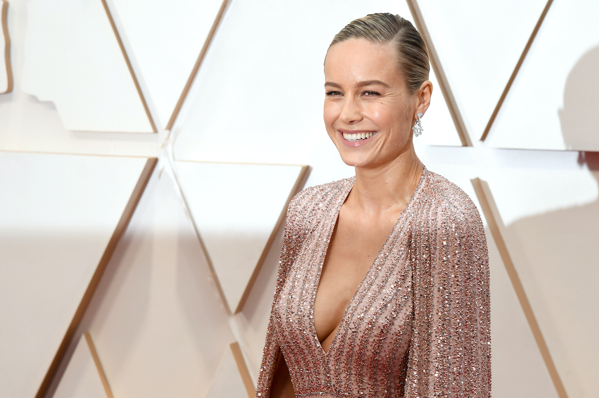 Brie Larson at the 92nd Annual Academy Awards