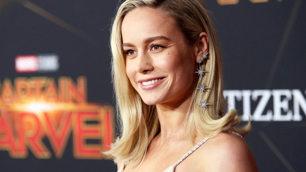 "Actor Brie Larson attends the Los Angeles World Premiere of Marvel Studios' ""Captain Marvel"" at Dolby Theatre on March 4, 2019 in Hollywood, California."