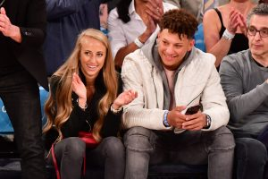Patrick Mahomes Can't Keep up With His Girlfriend's at Home Workouts