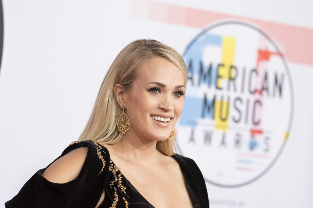 Carrie Underwood at the 2018 American Music Awards   Image Group LA via Getty Images