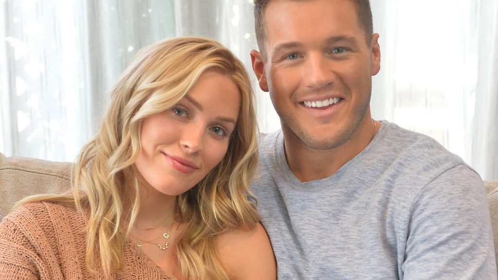 'The Bachelor' stars Cassie Randolph and Colton Underwood star in a new ad campaign for Tubi, the worlds largest free movie and TV streaming service on October 08, 2019 in Mar Vista, California.