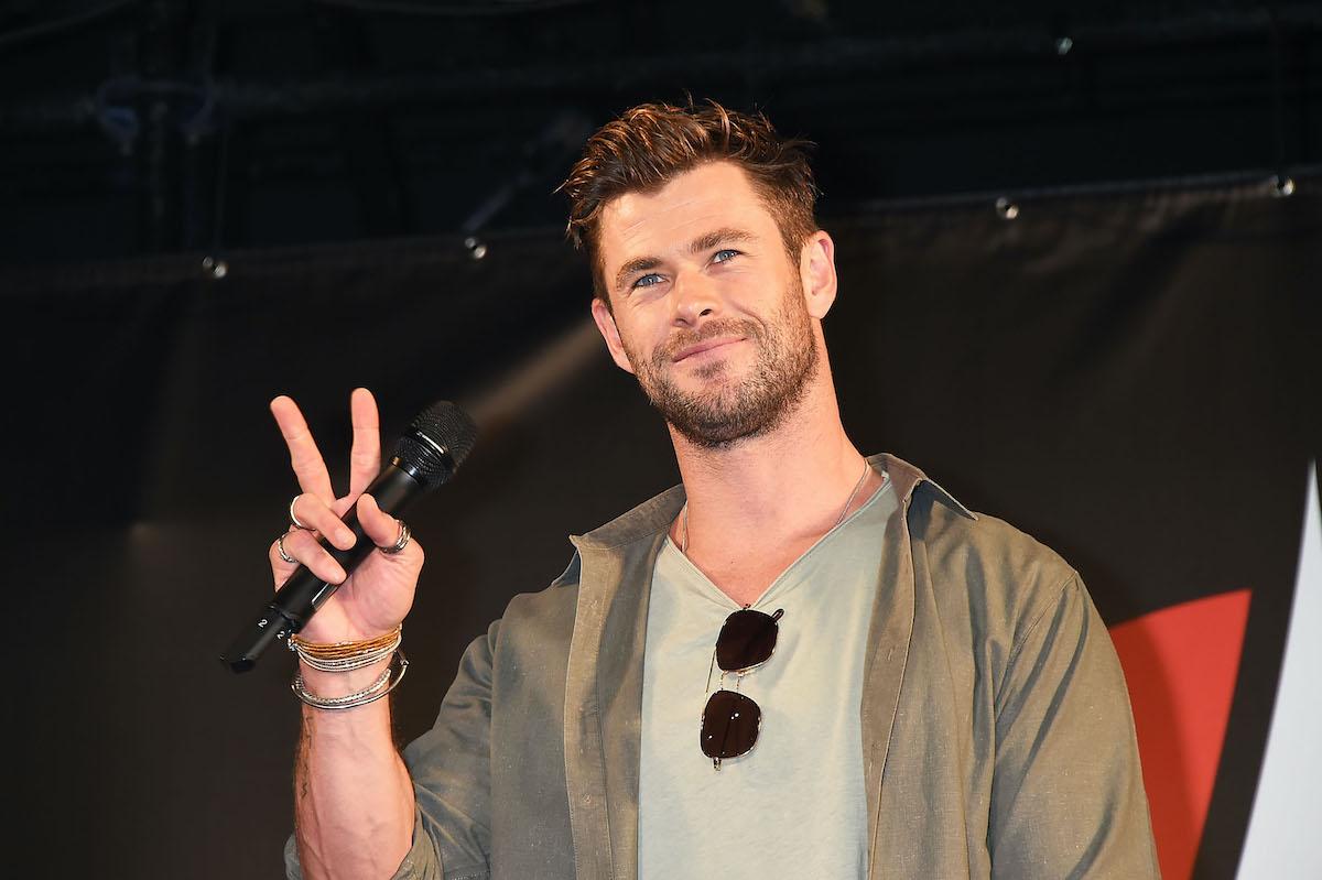Chris Hemsworth at Tokyo Comic-Con