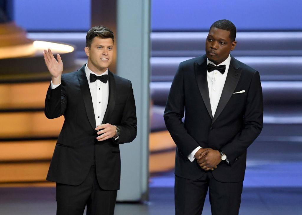 Colin Jost and Michael Che of Saturday Night Live