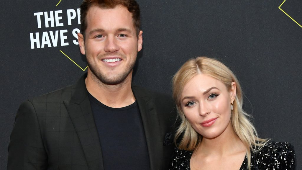 Colton Underwood and Cassie Randolph come to E 2019!  The People's Choice Awards were presented on November 10, 2019 in the Barker Hangar