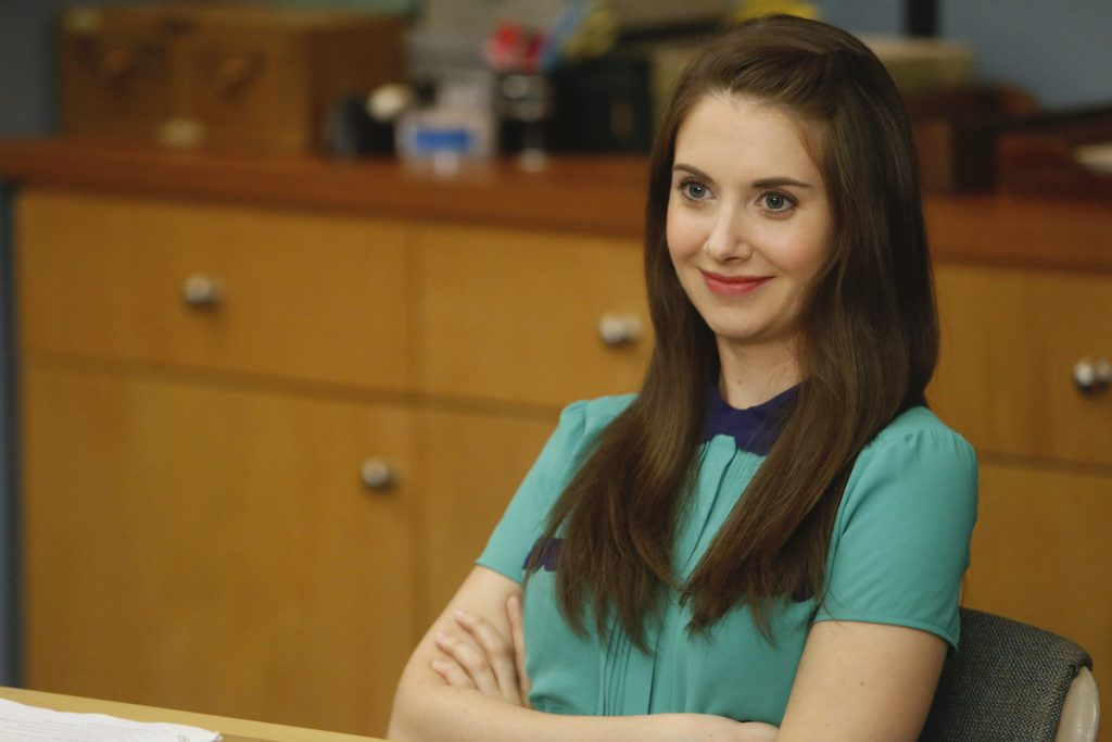 Alison Brie as Annie on 'Community'