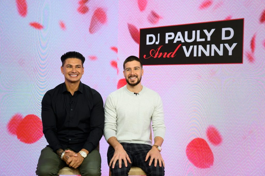 DJ Pauly D and Vinny from 'Double Shot at Love'