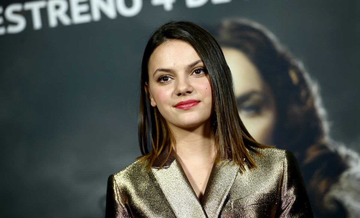 Dafne Keen at the 'His Dark Materials' photocall in Madrid, Spain