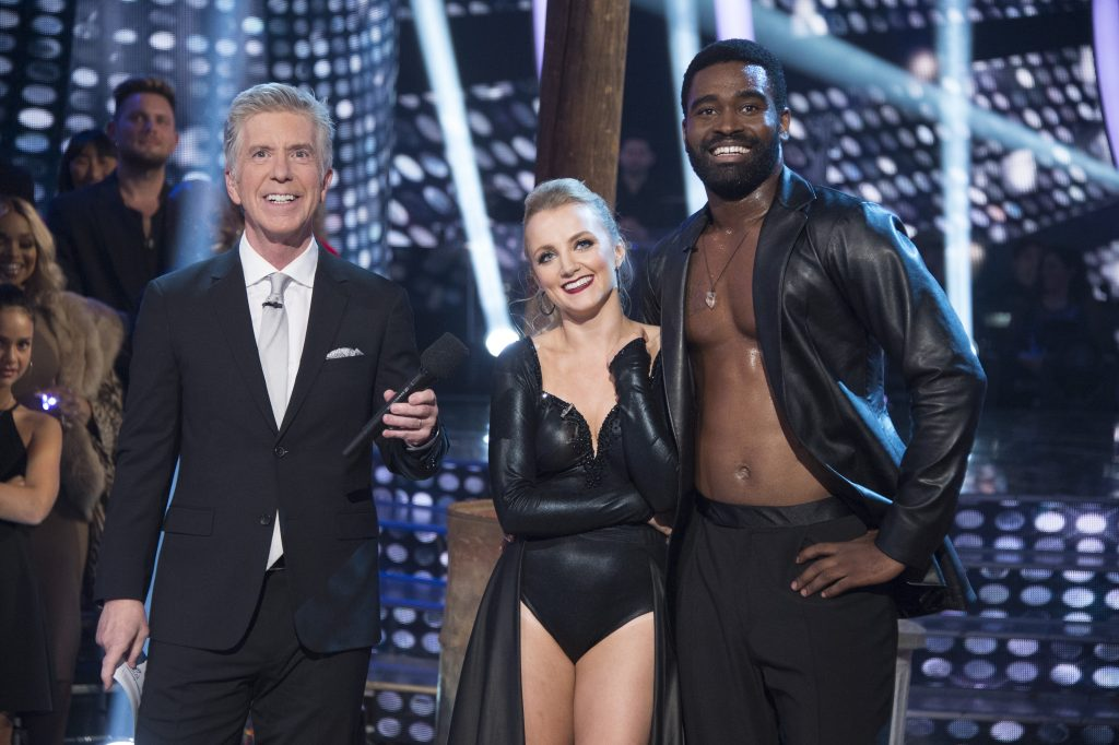 Tom Bergeron, Evanna Lynch, Keo Motsepe on 'Dancing with the Stars'