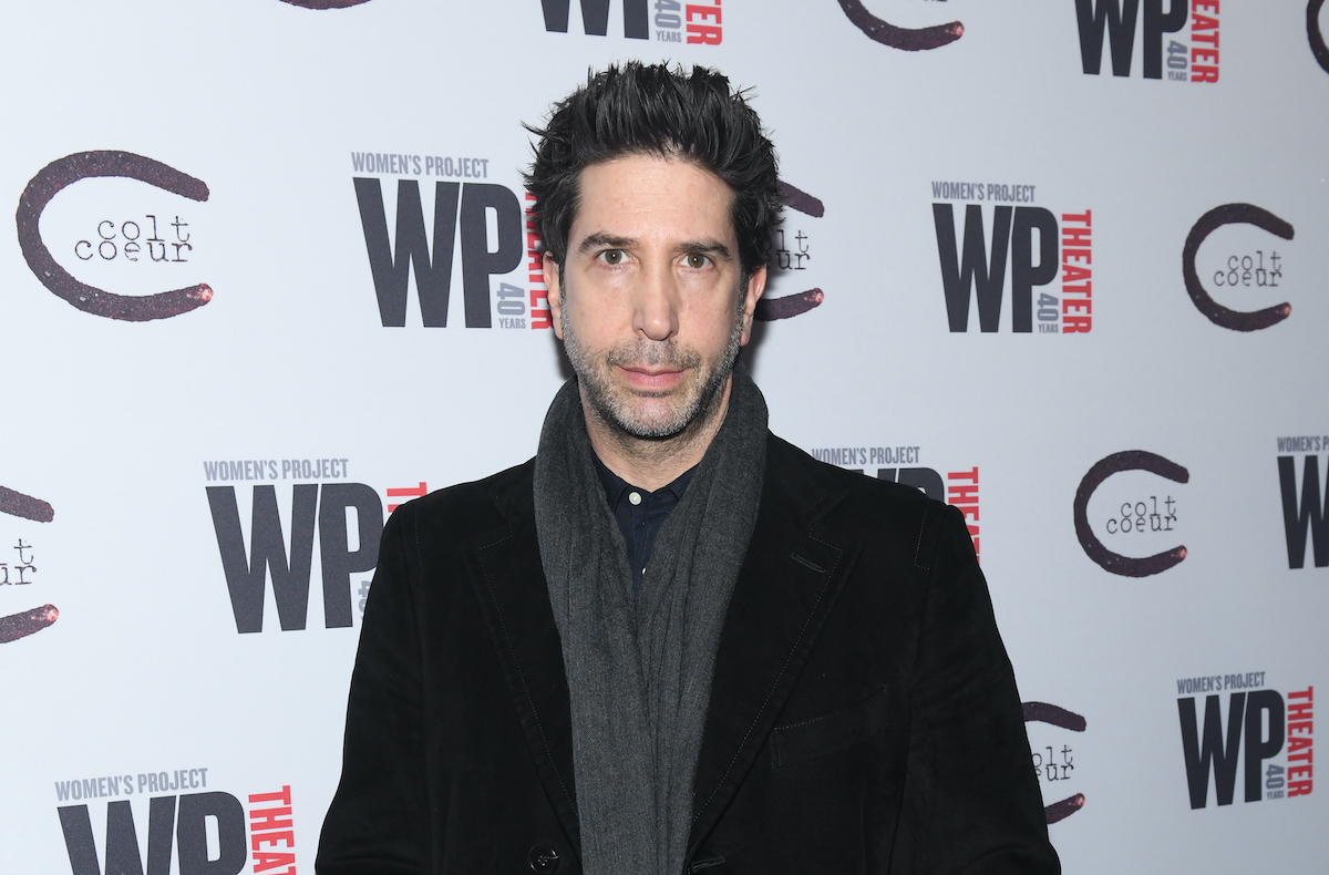 David Schwimmer attends 'HATEF**K' opening night