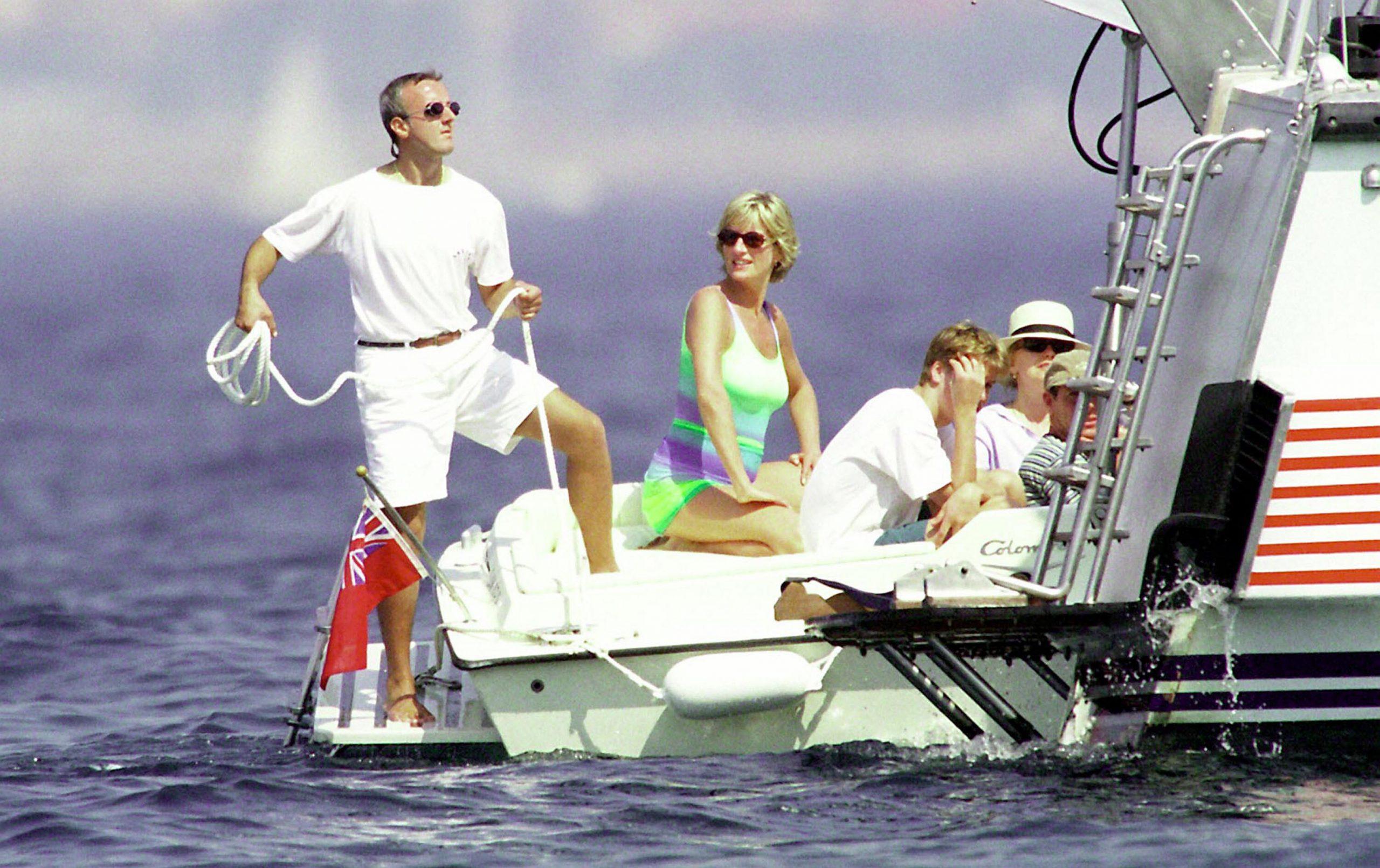 Diana and Dodi Al Fayed