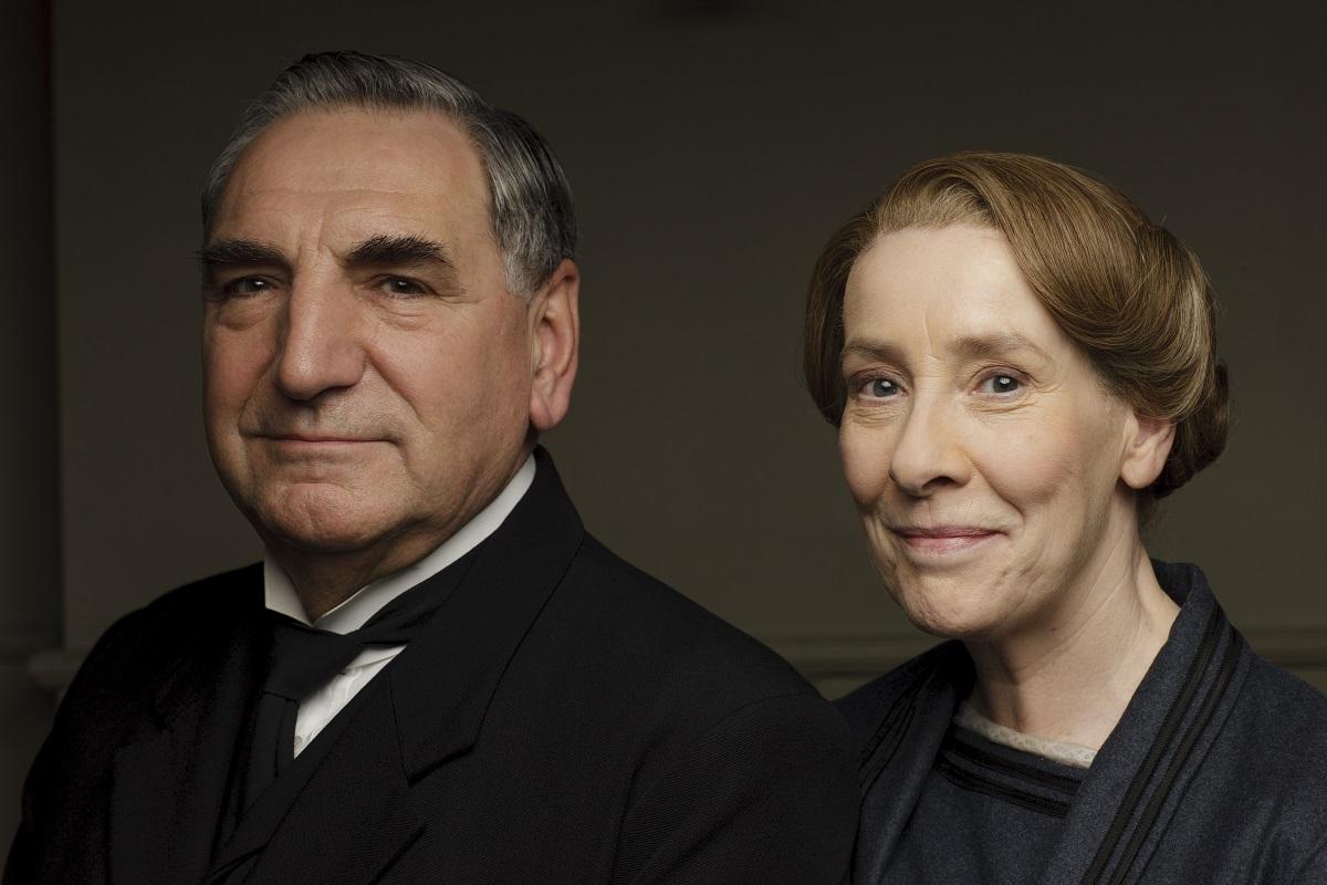 Downton Abbey: Phyllis Logan and Jim Carter