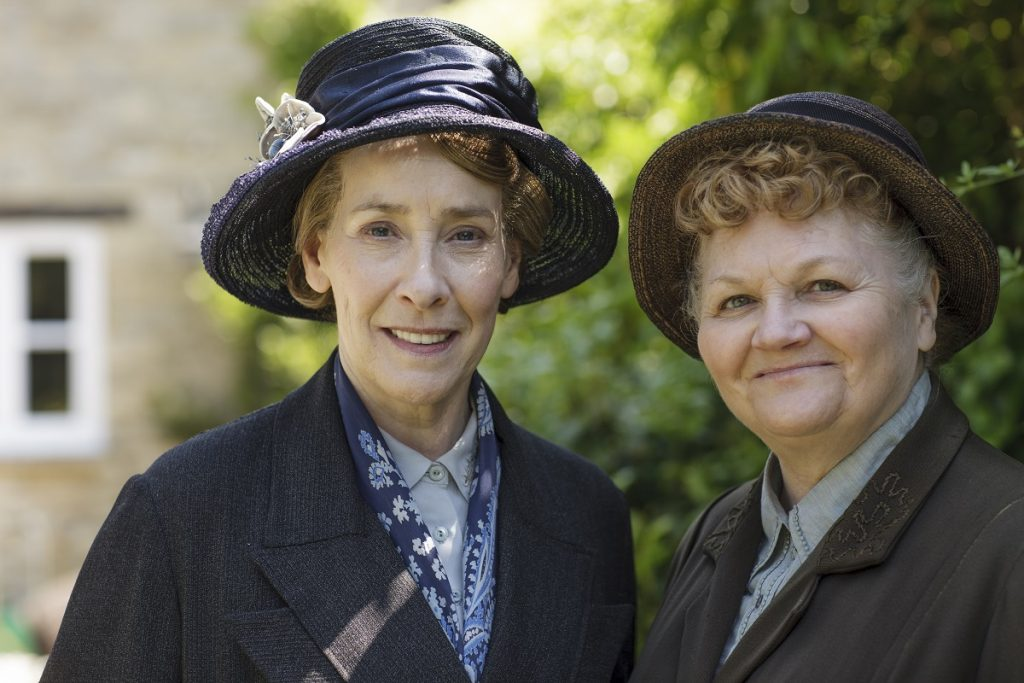 Downton Abbey: Phyllis Logan and Lesley Nicol