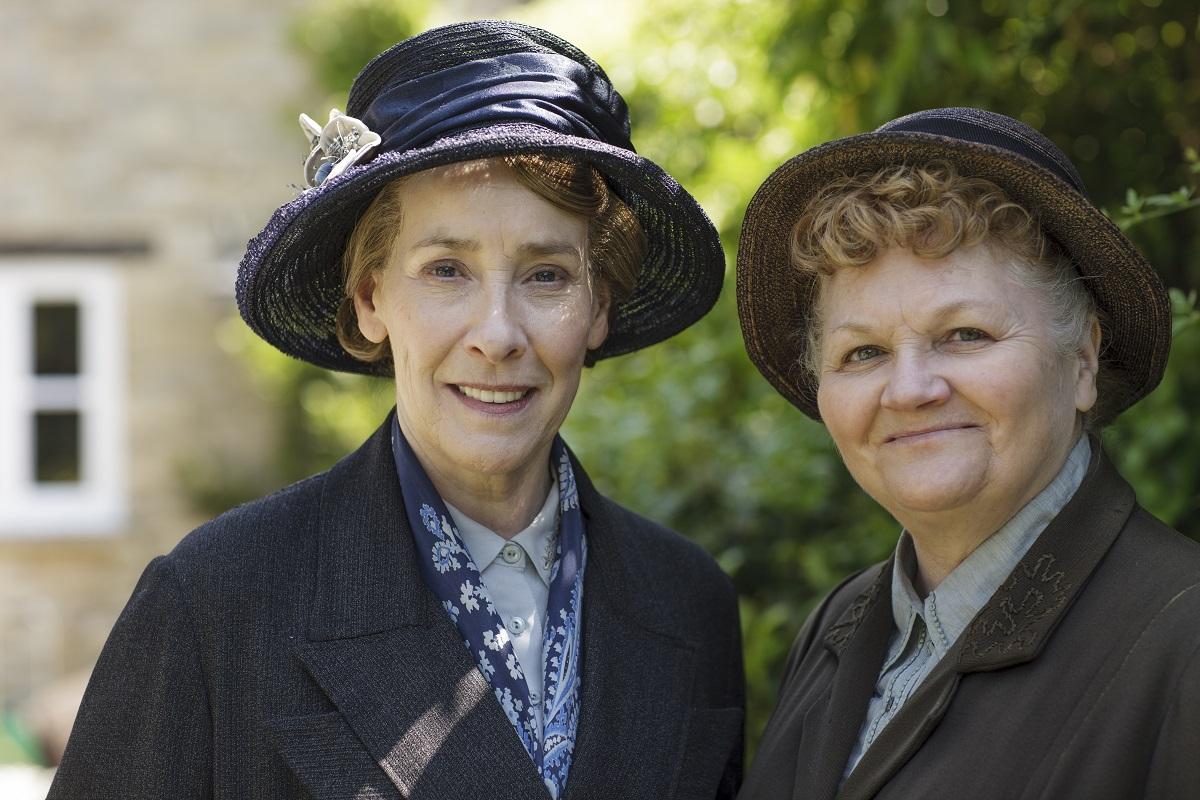 Downton Abbey: Phyllis Logan and Lesley Nicol