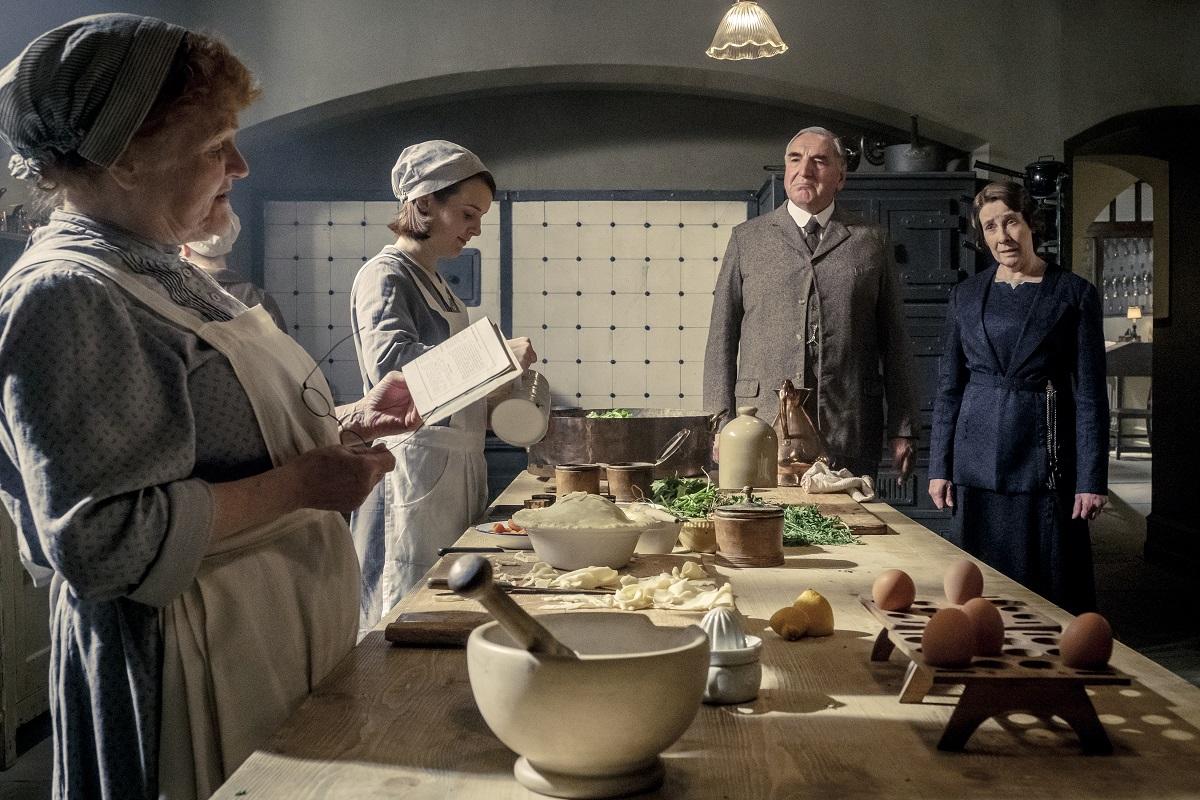 Downton Abbey kitchen
