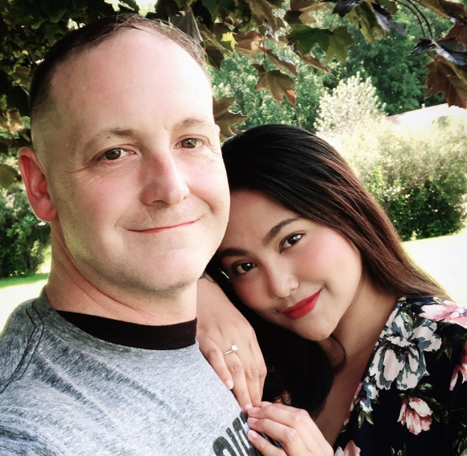 Eric and Leida of '90 Day Fiancé'   Instagram @_aicohen