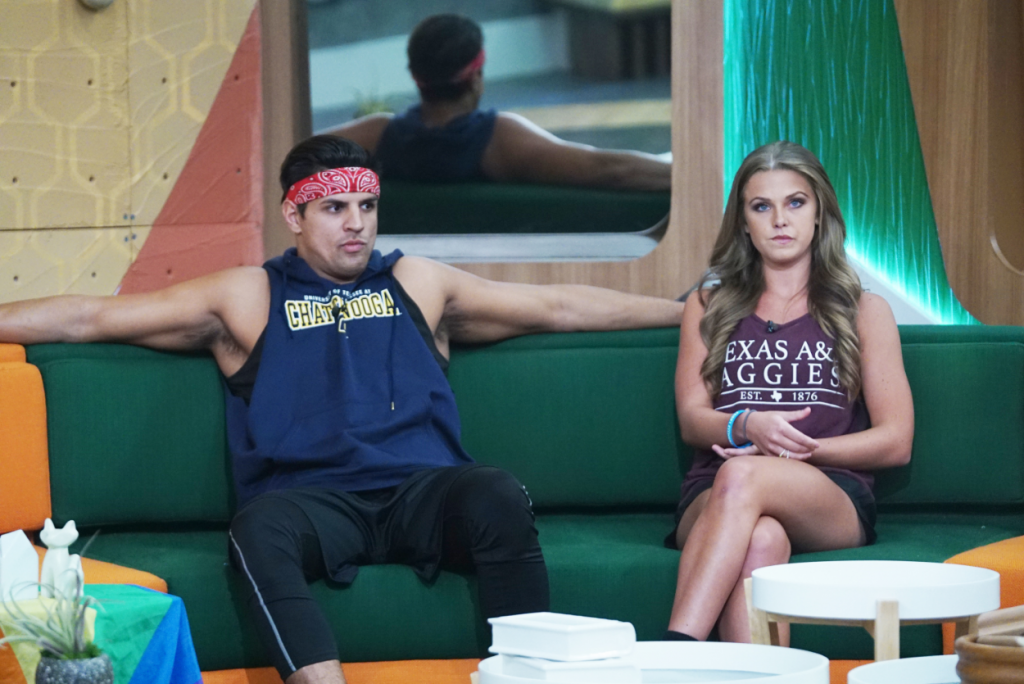 Faysal Shafaat and Haleigh Broucher are on the block in the 'Big Brother 20' house