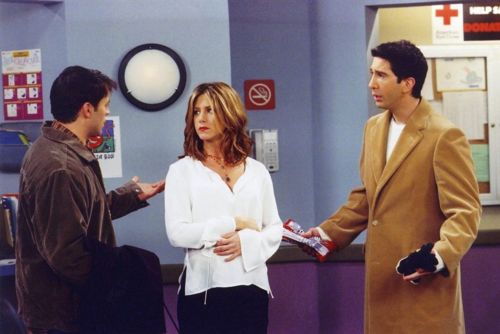 David Schwimmer says 'Friends' reunion is 'unscripted'