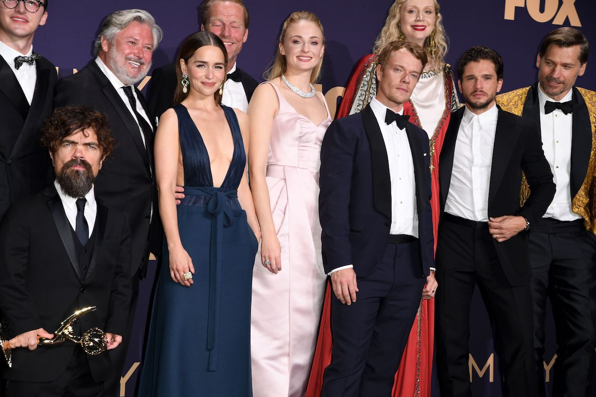 The cast of 'Game of Thrones' during the 71st Emmy Awards