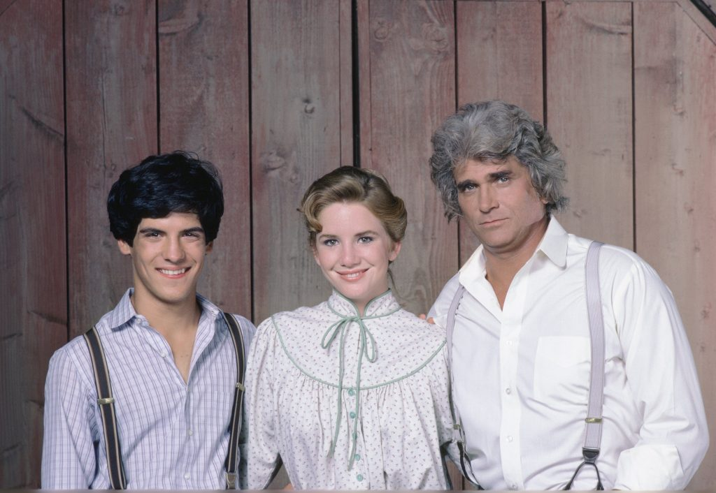 A cast photo from 'Little House on the Prairie'