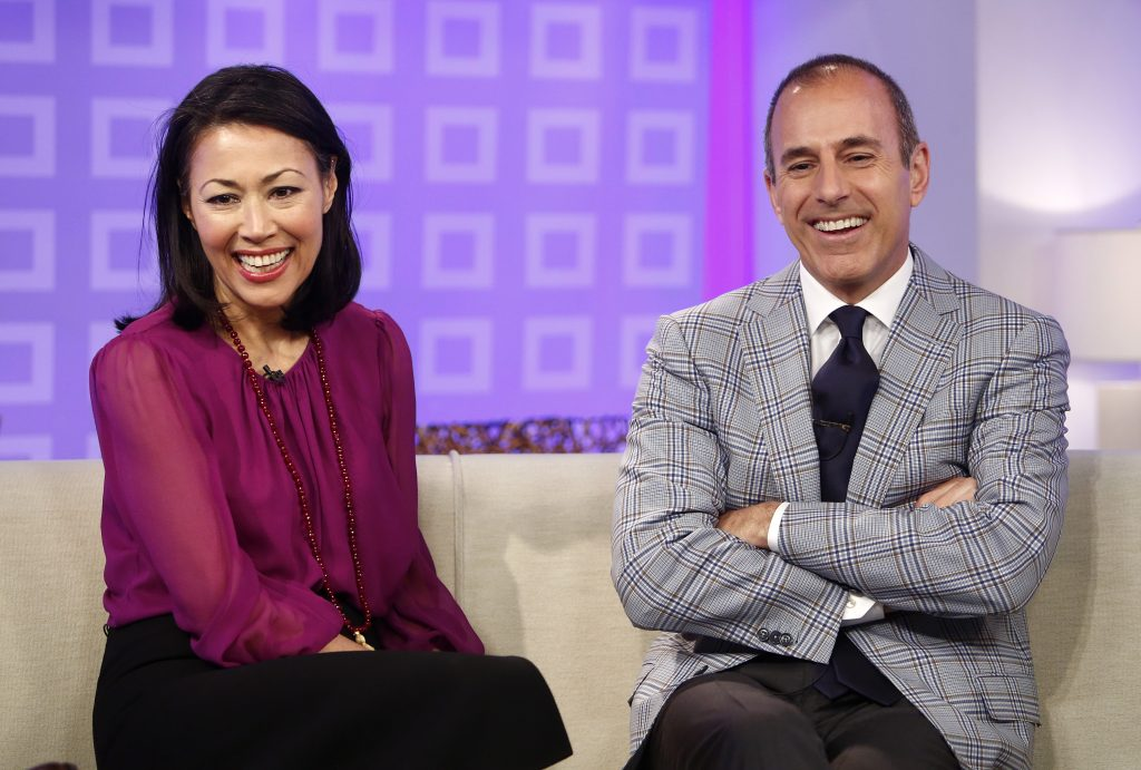 Ann Curry and Matt Lauer on 'Today'