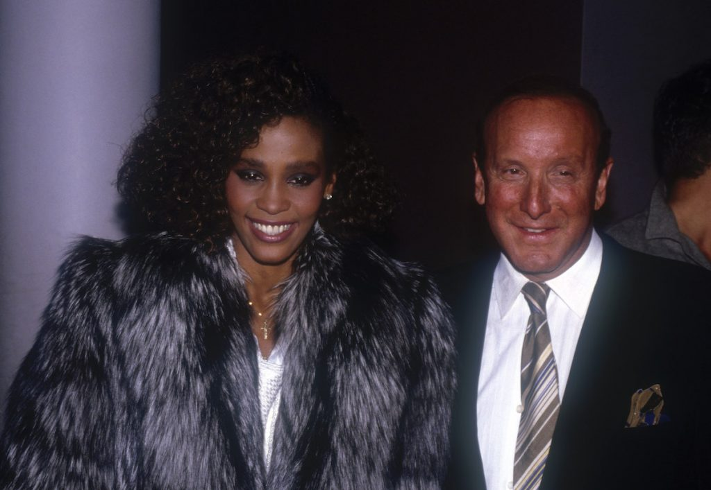 Whitney Houston and Clive Davis
