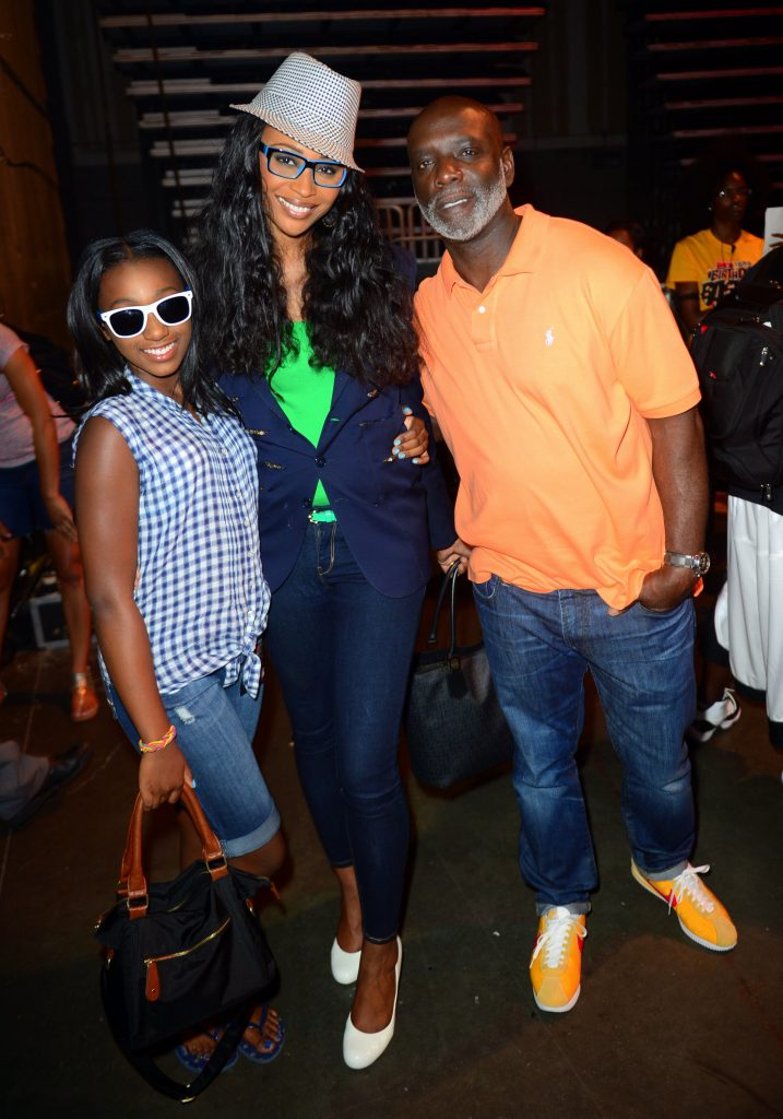 Noelle Robinson, Cynthia Bailey, and Peter Thomas