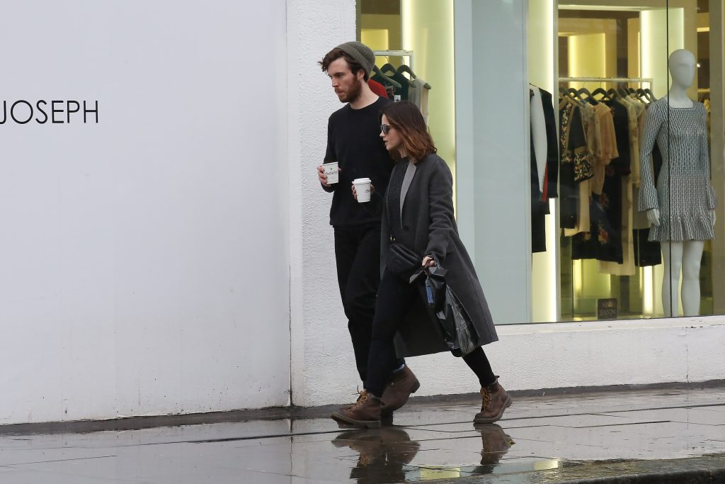 Jenna Coleman and Tom Hughes in 2017