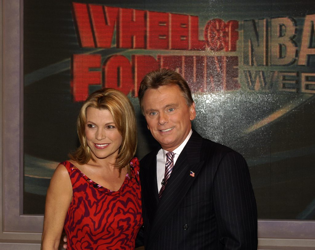 Vanna White and Pat Sajak of 'Wheel of Fortune'
