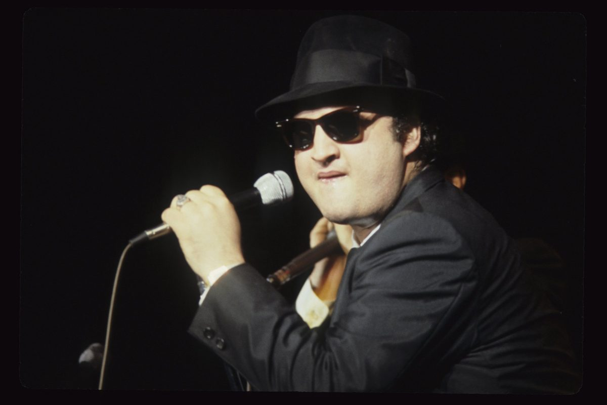 John Belushi aka Jake Blues of The Blues Brothers