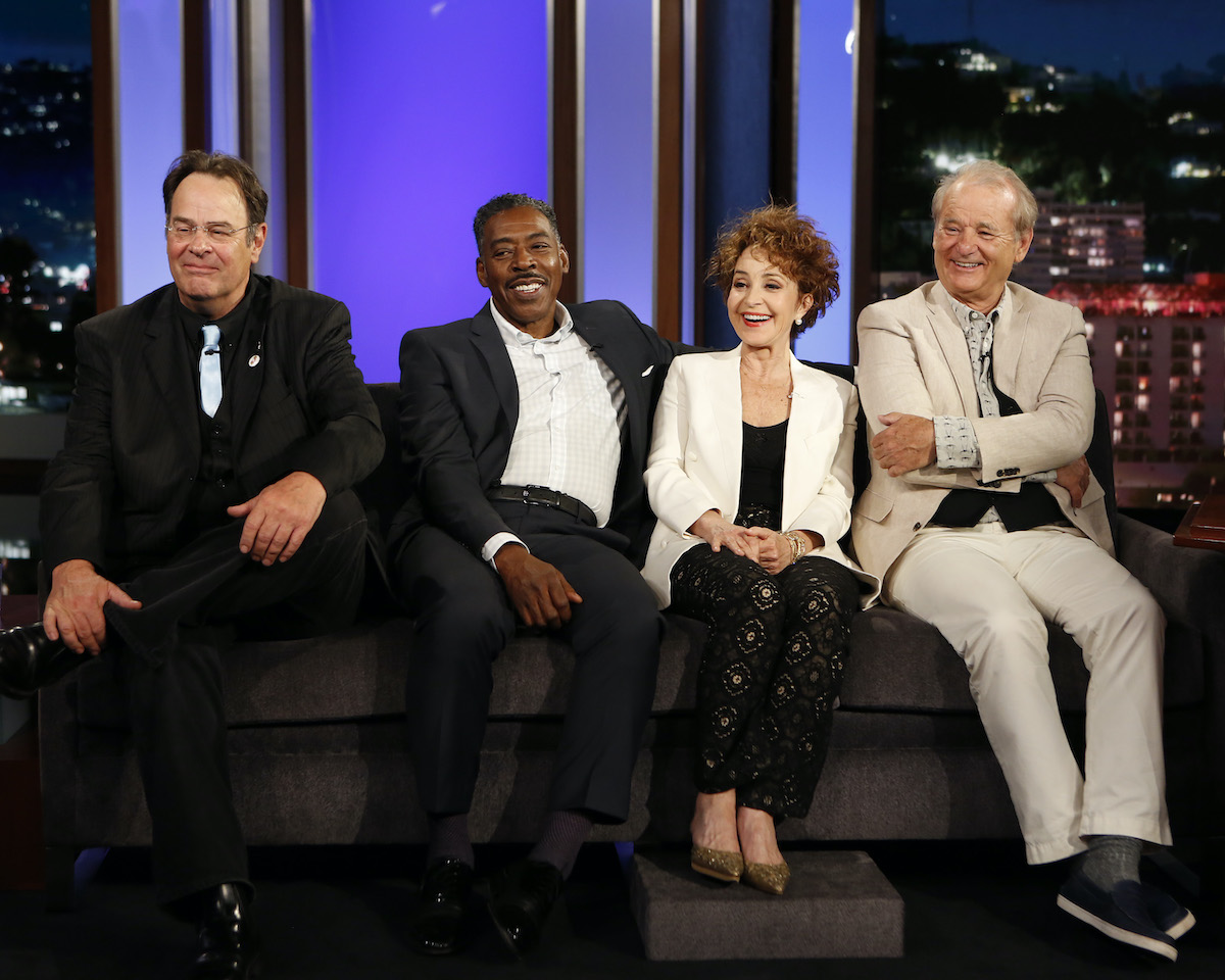 Dan Aykroyd, Ernie Hudson, Annie Potts, and Bill Murray