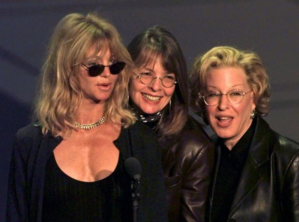 The First Wives Club stars Goldie Hawn, Bette Midler, Diane Keaton