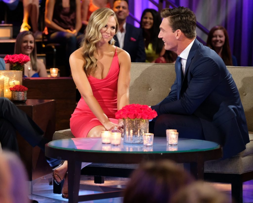 'The Bachelorette' stars Hannah Brown and Tyler Cameron