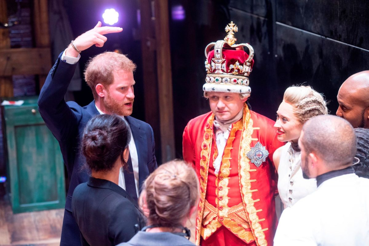 Prince Harry and Meghan at Hamilton Performance