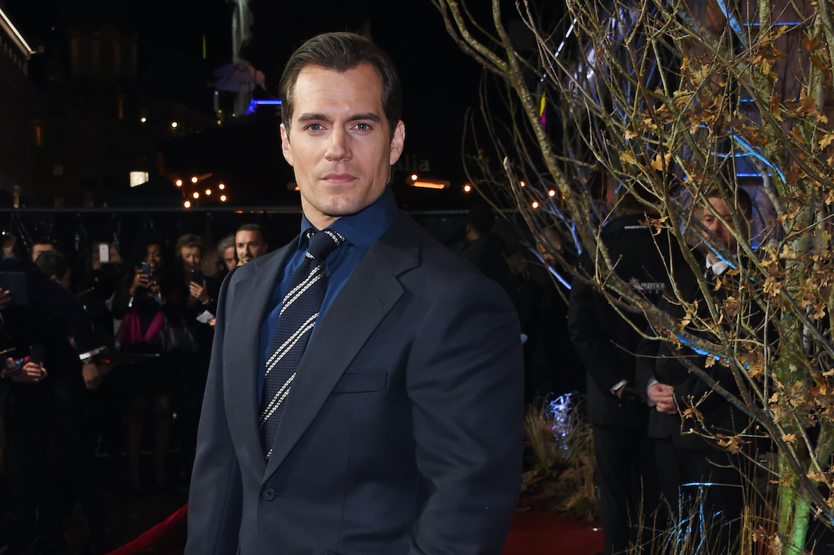 Henry Cavill at 'The Witcher' premiere