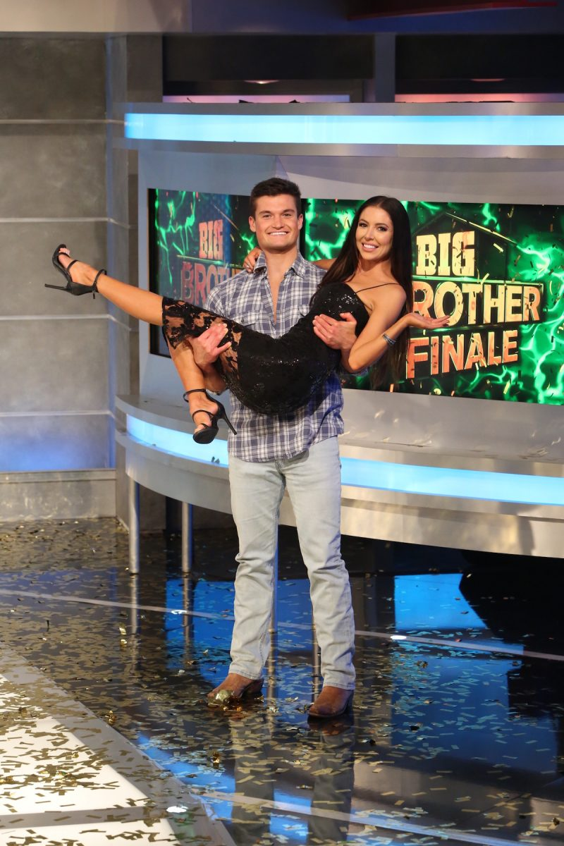 Jackson Michie,and Holly Allen on Big Brother