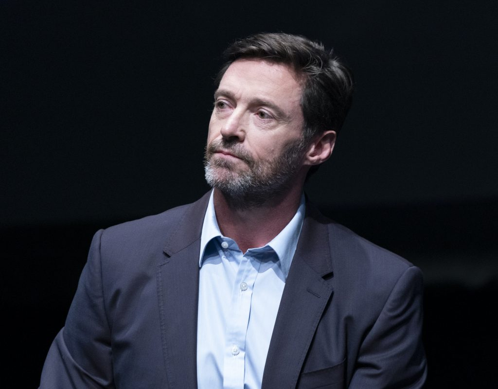 Hugh Jackman attends press conference for Global Citizen & Teneo unveiling campaign plans and 2020 headliners at St. Ann's Warehouse