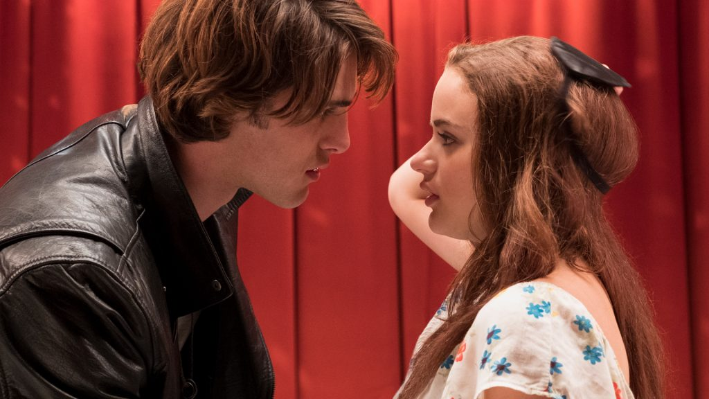 Jacob Elordi as Noah and Joey King as Elle on 'The Kissing Booth'