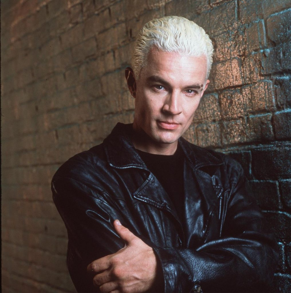 """James Marsters as Spike stars in 20th Century Fox's """"Buffy The Vampire Slayer Year 5."""""""