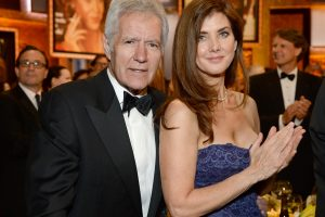 'Jeopardy' Host Alex Trebek Tears Up When His Wife Jean Does This For Him