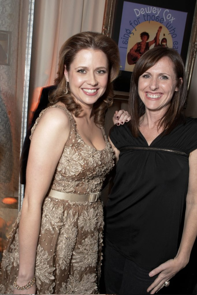 "Jenna Fischer and Molly Shannon at the Los Angeles premiere of ""Walk Hard"""
