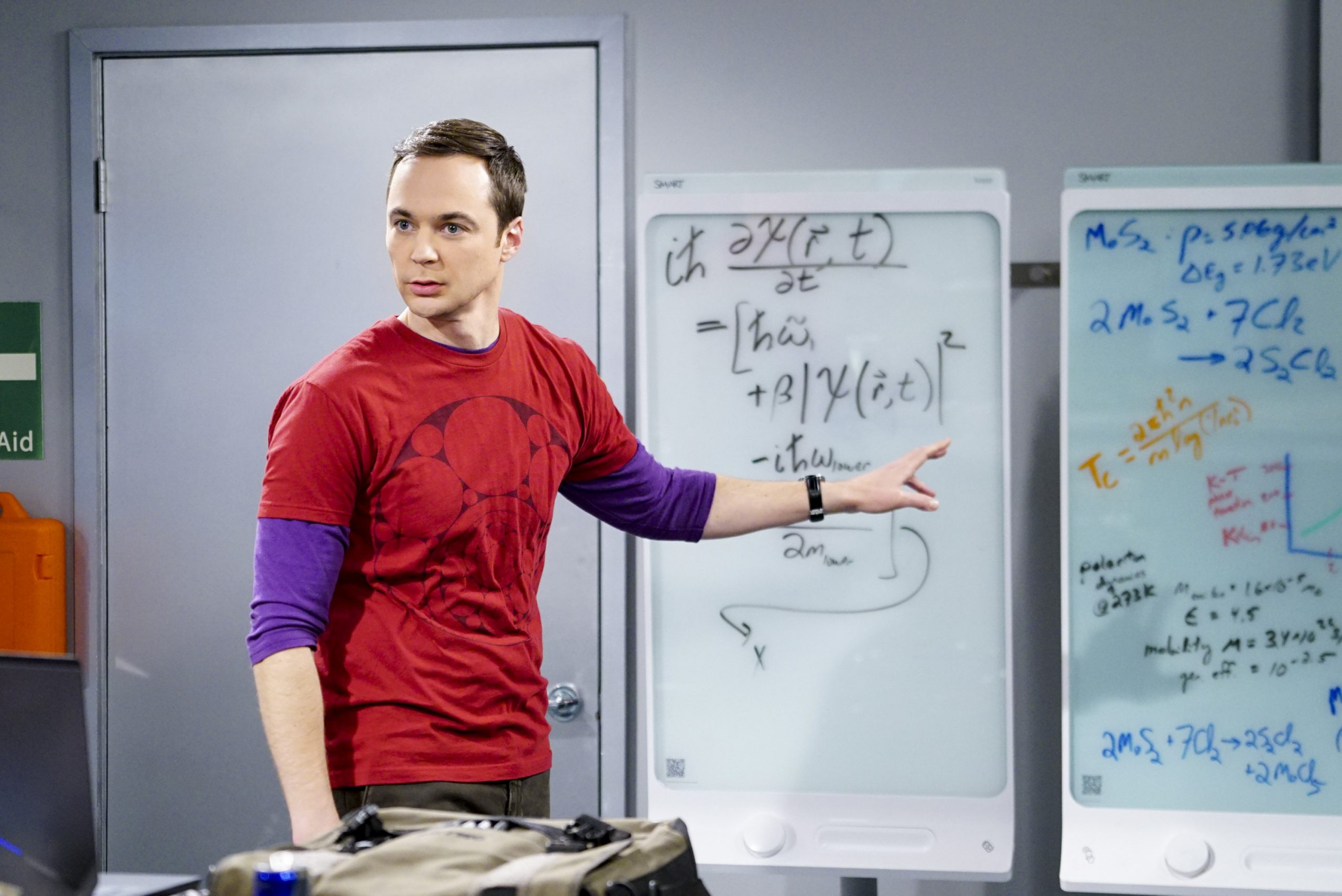 Jim Parsons on The Big Bang Theory