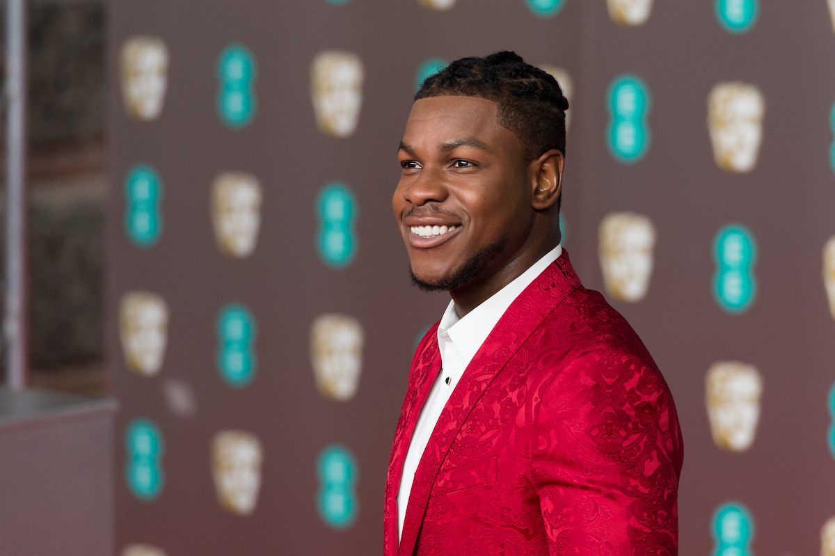 John Boyega at the EE British Academy Film Awards