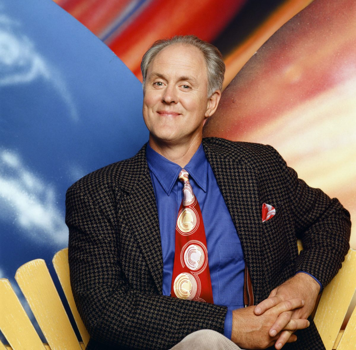 John Lithgow as Dick Solomon in '3rd Rock from the Sun'