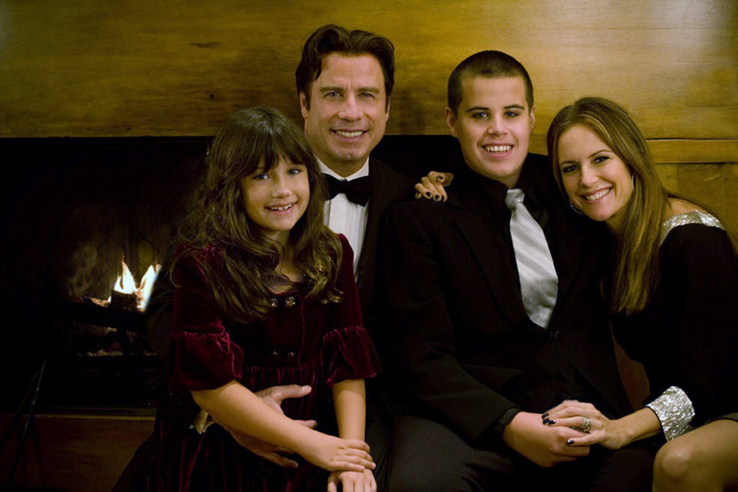 John Travolta and Kelly Preston family