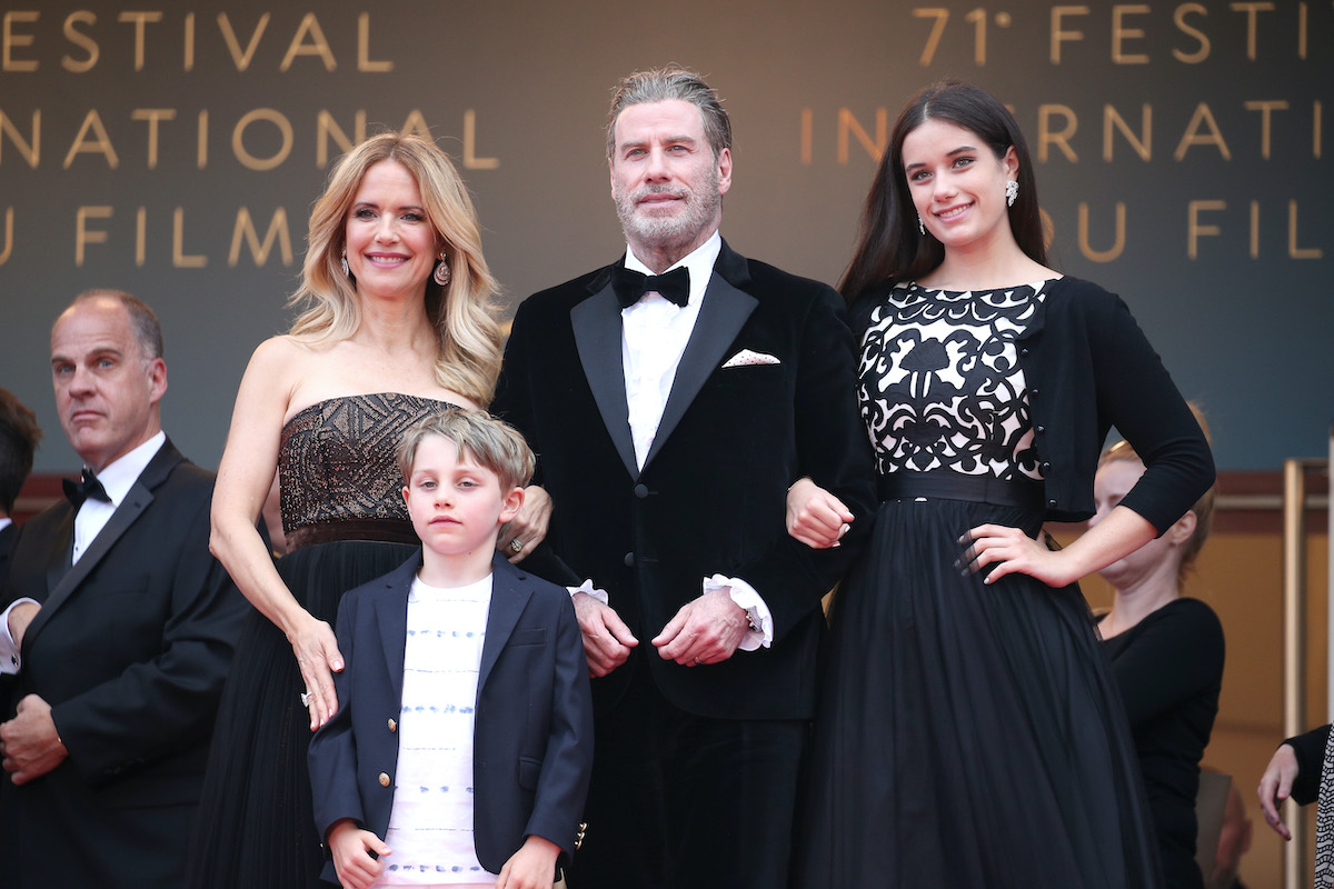 John Travolta and Kelly Preston's kids